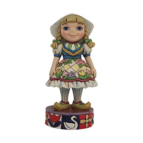 Jim Shore Disney Traditions It's A Small World Sonata Holland Figurine