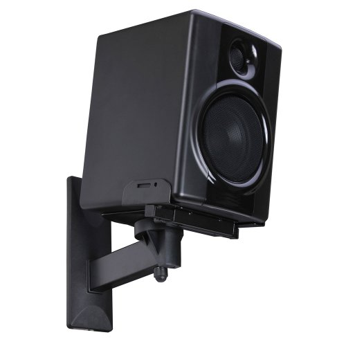 Videosecu One Pair Of Side Clamping Bookshelf Speaker