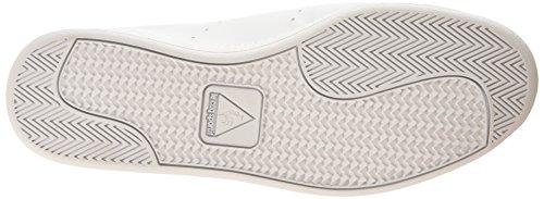 Le Coq Sportif Courtone S Lea - Zapatillas de deporte Hombre Blanco (Optical White/EvergrOptical White/Evergr)