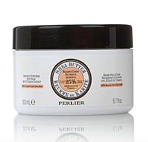 (Perlier Shea Butter with Tuberose Extract Intensive Nurturing Body Balm ~ 6.7 fl oz)
