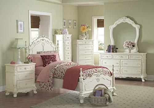 Homelegance Cinderella Bedroom Collection in Antique White