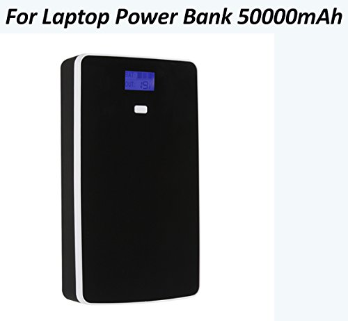 Laptop Power Bank 50000mAH Portable Charger External Battery Phone Tablet Powerbank 5/7/9/12/14/16/19v