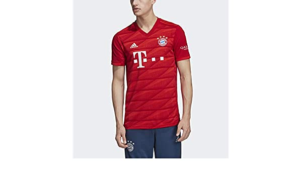 adidas Mens Bayern Munich Home Jersey 2019-2020: Amazon.es: Ropa ...