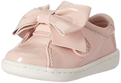 Keds Girls' Ace Bow Jr. Sneaker, Blush, 4.5 M US Toddler
