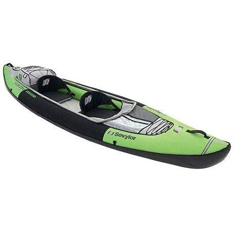 Sevylor Kayak hinchable Yukon kcc380 - 2 plazas - verde y ...