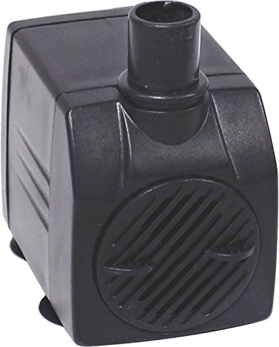 EasyPro Pond Products Tranquil Decor 125 GPH 5 Watt Submersible Fountain Pump
