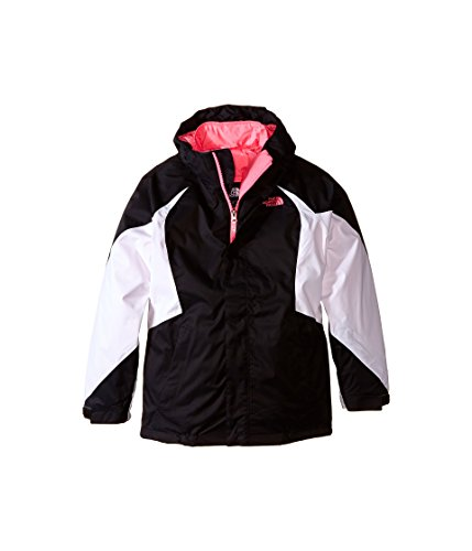 The North Face Kids Girls Kira Triclimate Jacket (Little Big Kids), TNF Black, XL (18