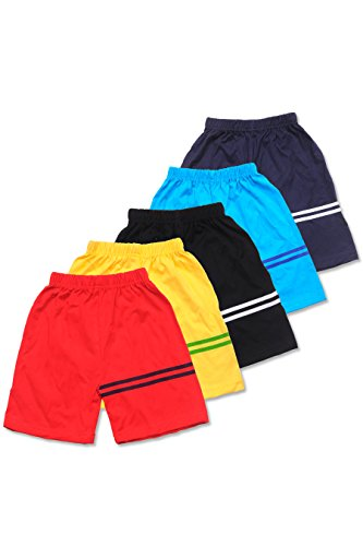 T2F Kids Shorts for Boys and Girls (Pack of 5)
