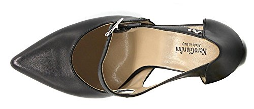Nero Giardini Heels P805491-100 5491 in Schwarz und Lederband Nero