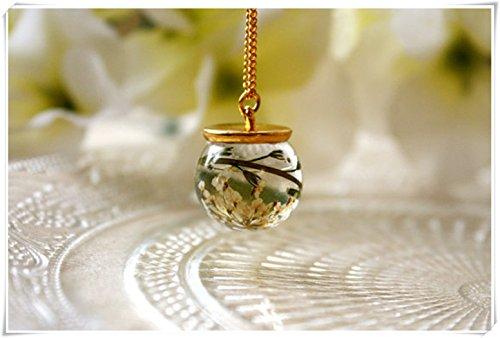 resin plant jewelry - 2