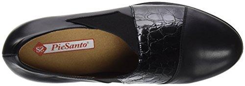 con Black Mujer 175778 para Plataforma Zapatos Negro PieSanto FgZpwqSxg