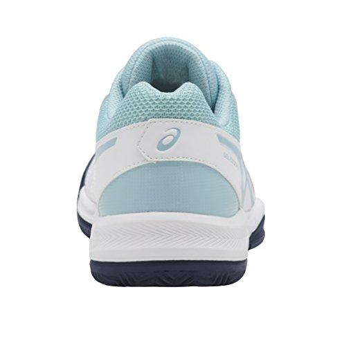 Blue Blue dedicate Donna Da Tennis porcelain Gel Asics 5 indigo white Clay Scarpe Multicolore PqoOFHx