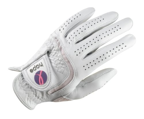Wilson Golf Ladies Hope Premium Leather Left Hand Glove (Good Hope Ladies Leather)