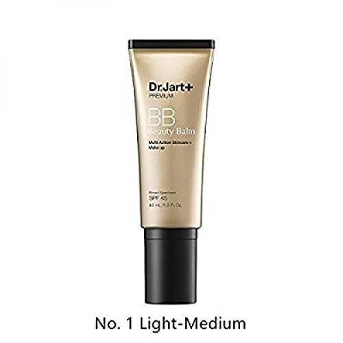 Dr. Jart+ Premium Beauty Balm SPF 45, No. 1 Light – Medium, 1.5 Ounce Best BB Cream