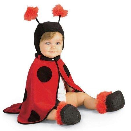 Lil Ladybug Infant 3-12 Mos (Costume Ladybug Infant Lil)