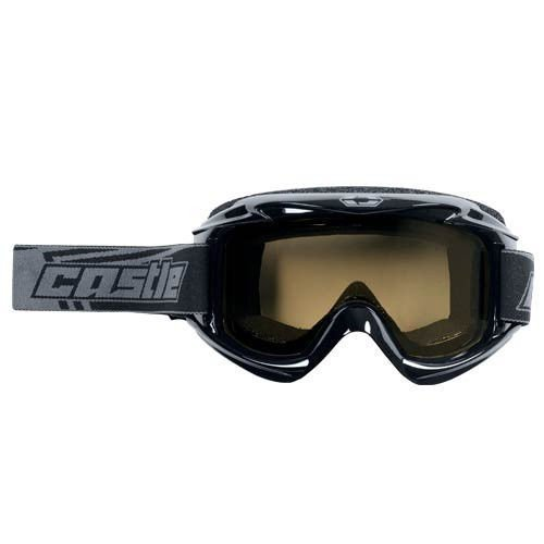 Snowmobile Eyewear Accessories - Castle X SNO LAUNCH goggle -Black