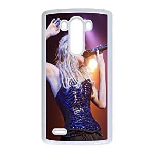 LG G3 Cell Phone Case White Pixie Lott On Stage LV7902899