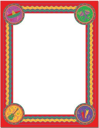 UPC 601952568701, Cinco De Mayo Letterhead Paper