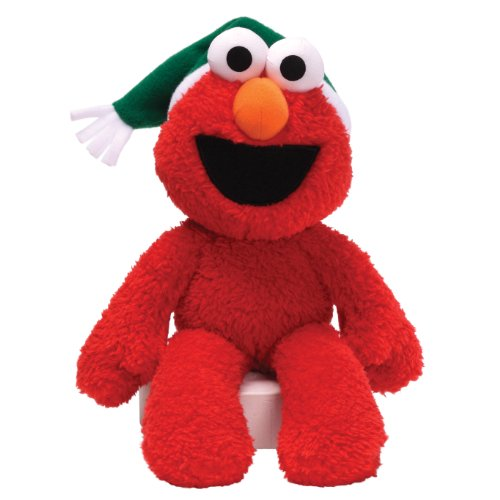 Gund Sesame Street Seasonal Elmo Take Along Buddy 12″ Plush, Baby & Kids Zone