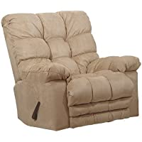 54689-2-2220-36 (Hazelnut) Catnapper Oversized Magnum Rocker Recliner With Heat and Massage. Free Curbside Delivery.