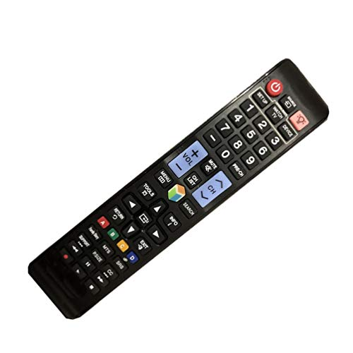 - Easy Replacement Remote Conrtrol Fit for Samsung UN50JU6500F UN55JU6500F UN40F6300AF UN32F6300AF UN50H6350 4K Smart 3D LCD LED HDTV TV