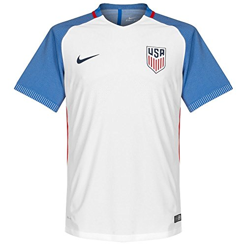 2016-2017 Nike US Authentic Home Vapor Jersey (White) - Jersey Hm Authentic