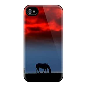 New Iphone 6 Cases Covers Casing(sunset Grassing)