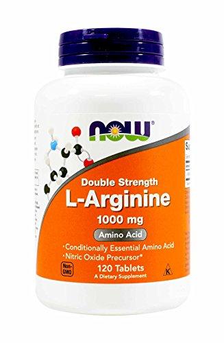 NOW Foods L Arginine 1000mg Tablets product image