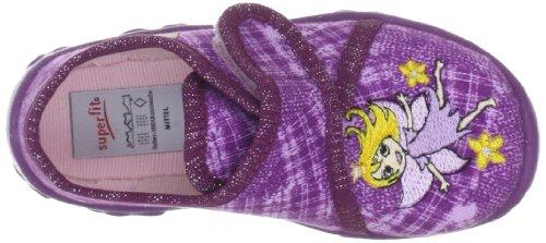 Superfit Bonny 90025897 Mädchen Hausschuhe Violett (Aubergine Kombi)