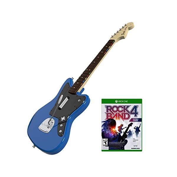 Rock Band Rivals Wireless Fender Jaguar Bundle for Xbox One 1