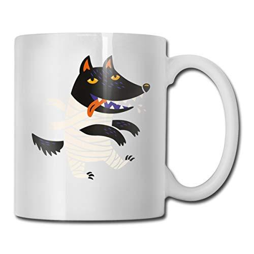 Riokk Az Wolf Halloween Costume 11oz Coffee Mug Funny Cup Tea Cup Birthday Ceramic