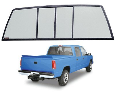 Cr Laurence Duo-Vent Four Panel Truck Slider with Light G...