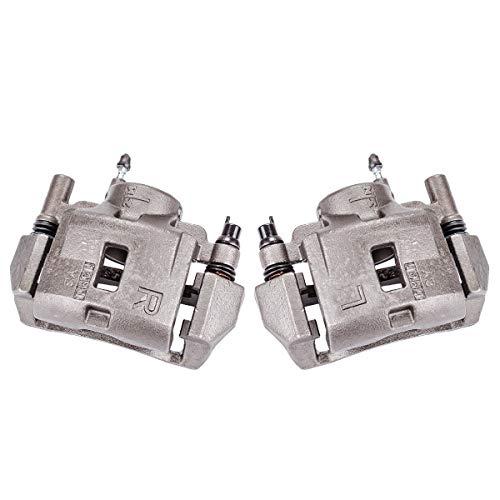 Callahan CCK04390 [2] FRONT Premium Semi-Loaded Original Brake Caliper Pair + Hardware [ 2002-2003 Mazda Protege5 ]