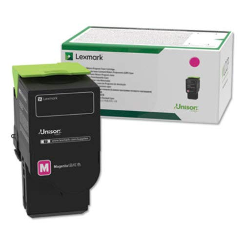 Lexmark C241XM0 Magenta Extra High Yield Return Program Cartridge Toner, Grey ()