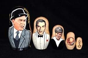 Frank Sinatra, 5 pc Matryoshka, Nesting Doll