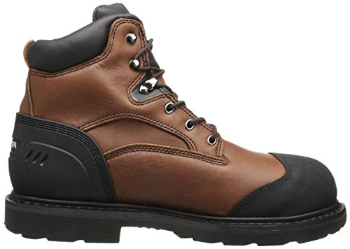 Chippewa Mens 6 Inch Waterproof Comp Toe Lace-Up Utility Boot Brown HGINExNQ