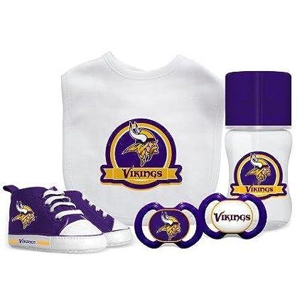 349ef9dd7 Amazon.com   Baby Fanatic NFL Minnesota Vikings Infant and Toddler ...