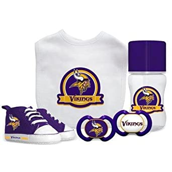 a719bedc Amazon.com: Baby Fanatic NFL Minnesota Vikings Infant and Toddler ...