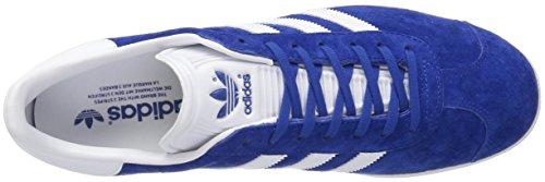 Adidas Unisex Gazelle Casual Sneakers Collegiaal Royal / Wit / Goud Ontmoet.