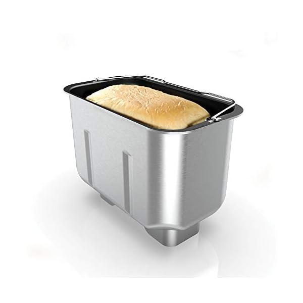 Imetec Zero-Glu Pro, Macchina per Pane, Ciabatte e Panini Senza Glutine per Celiaci, Pasta Pizza, Dolci, Marmellate, 20… 3