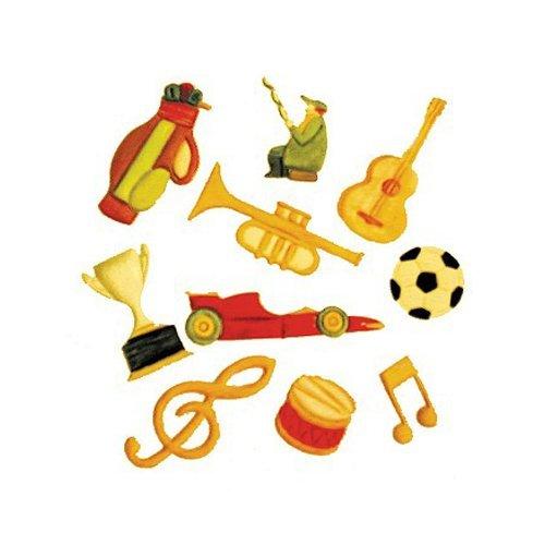 (FMM Music & Sport Cutter Set, Includes 10 different cutters)