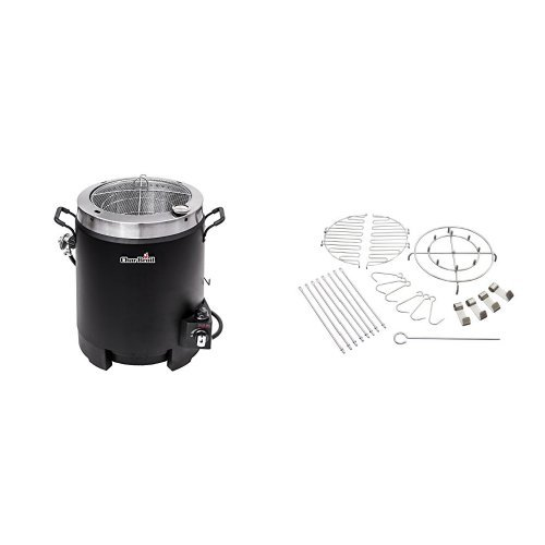The Big Easy Oil-less Turkey Fryer + The Big Easy 22-Piece Fryer Accessory Kit