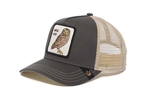 Goorin Bros. Mens  Big Ass  Owl Snapback Trucker Baseball Hat Gray e3c20de935ec