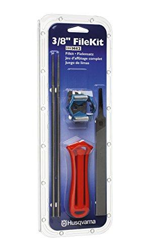 NEW Husqvarna 531300081 3/8-Inch 50cc Engine Saw Chain Filing Kit Mini Gauge by Husqvarna