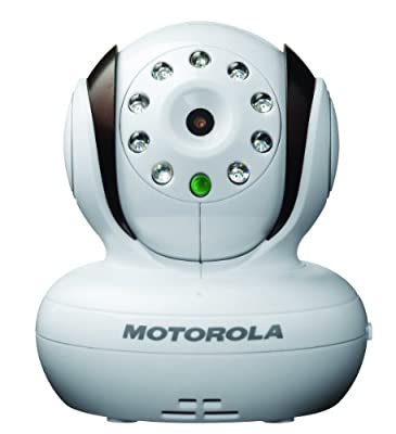Motorola Additional Camera for Motorola MBP33 and MBP36 Baby Monitor,Brown with White