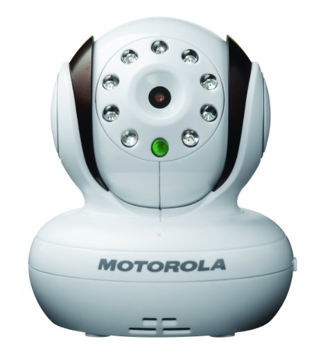 Motorola Additional Camera for Motorola MBP33 and MBP36 Baby Monitor,Brown with White by Motorola