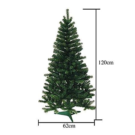 HG/® 120cm Gr/ün Weihnachtsbaum Tannenbaum Tanne Zweige Dekobaum mit Metallst/änder natur schwer entflammbar sehr schneller Aufbau mit Klappsystem Premium Spritzguss Qualit/ät