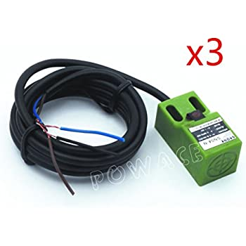 3Pcs SN04-N DC NPN Approach Sensor Inductive Proximity Switch Sensor Switch 4mm 3-Wire 6-36V/DC
