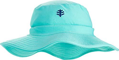 Coolibar UPF 50+ Kids' Surfs Up Bucket Hat - Sun Protective (Large/X-Large- Tropical - Bucket Hat Brimmed