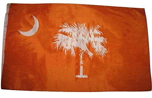 3x5 3'x5' Wholesale Set  South Carolina SC State Orange